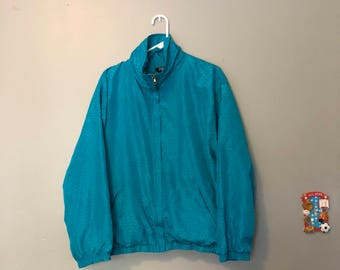 Blue Evr Windbreaker