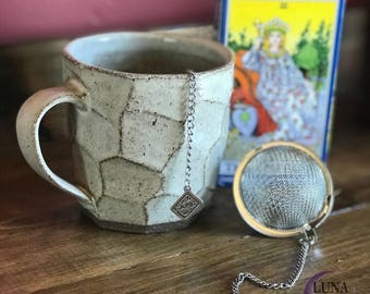 Tarot Tea Infuser - Stainless Steel Tea Ball - Tea Strainer - Tea Infuser - Tea Steeper - Tarot Card - Tarot - Home & Living - Tarot Gift