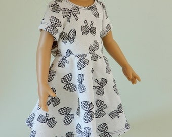 18 inch doll clothes american, Girl doll clothes american, Girl doll dress, 18 inch doll dress, 18 doll outfit, Jersey doll dress 18 inch