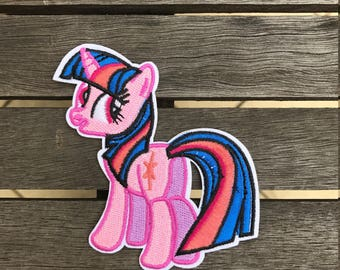 Twilight Sparkle my little pony iron on patch