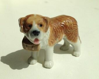 1950's Saint Bernard dog from Wade Whimsie SET 7 - Pedigree Dogs (1957)