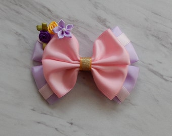 Rapunzel bow, Tangled bow