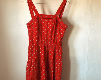 Red Rodeo Dress