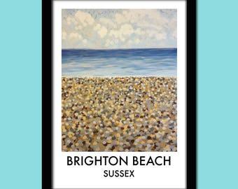 Brighton Beach Travel Poster