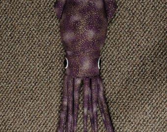 Purple Galaxy Squid Plush