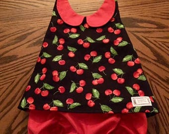 Halter Top with Ruched Bloomer Set - toddler, girls, shorts, halter, bloomers, ruched