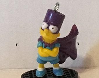 The Simpson's Bart Simpson as Bartman Key chain or Ornament