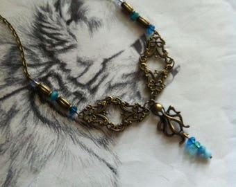"Necklace ""Octopus Garden"""