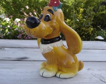 Tirelire Boule chien. Piggy bank. Boule et Bill. Vintage. Belgique