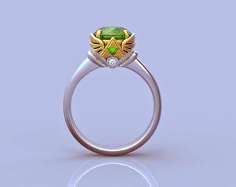 Geek engagement ring Etsy