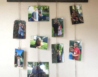Family/wood sign/picture hanger/picture frame
