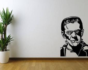 Frankenstein Vinyl Wall Decal Sticker