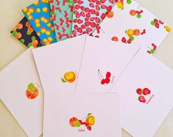 Fruit Salad Note Cards