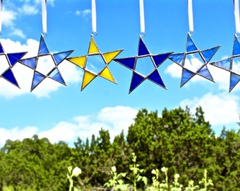 Shining Star Stained Glass Suncatcher