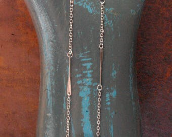 Vintage Sarah Coventry Signed Black Pendant Necklace