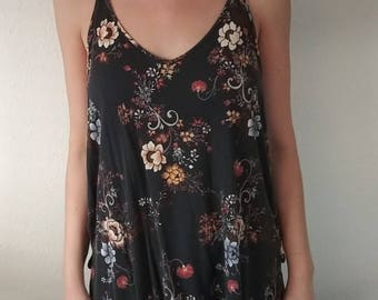Floral Fall Top