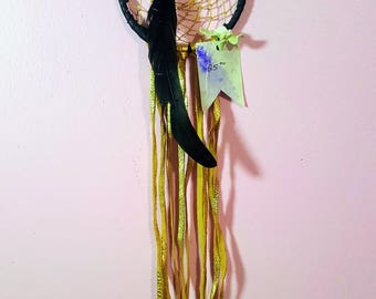 Small Dreamcatcher // Aboriginal art // Authentic dream catchers // cool gift ideas // unique gift ideas // wedding gift ideas
