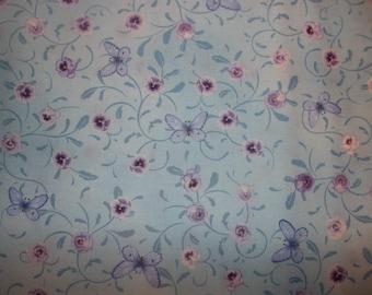 Pretty As A Pansy Cotton Fabric #286