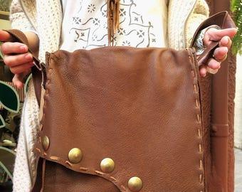 Camel bag, Boho bag, fur bag,