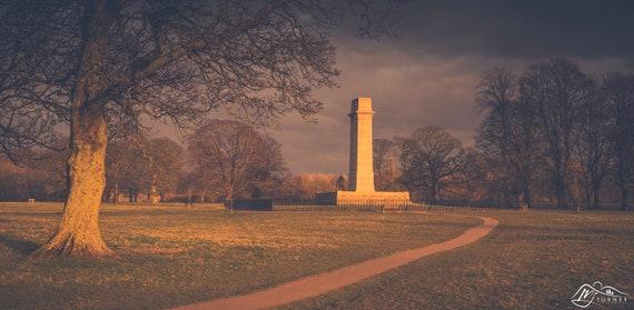 Memorial, Rickerby Park [Photographic Print]