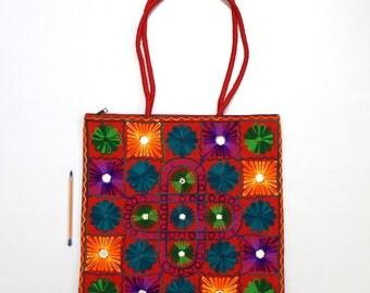 Handmade Ethnic Designer Tribal Banjara Patchwork Embroidered Hippy Fashionable Stylish Trendy Hippie Gypsy Boho Bohemian Shoulder Bag F346