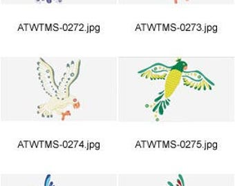 Deco-Birds-2  ( 10 Machine Embroidery Designs from ATW ) XYZ17F