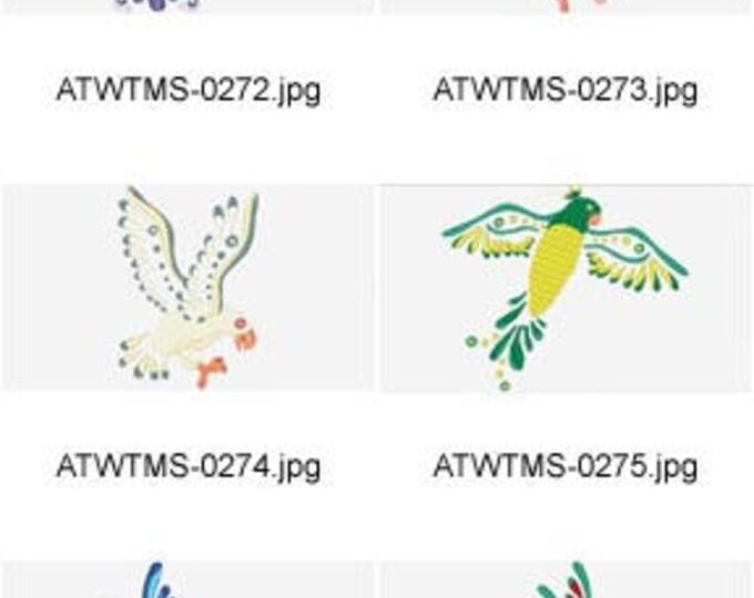 Deco-Birds-2  ( 10 Machine Embroidery Designs from ATW ) XYZ17F