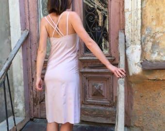 Lightweight powdered dress, summer dress, little black dress, Casual dress, Knitted dress, Wedding Dress