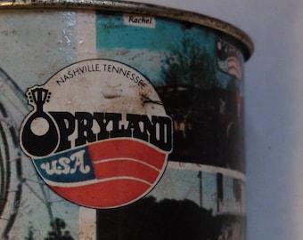Opryland Tin cup