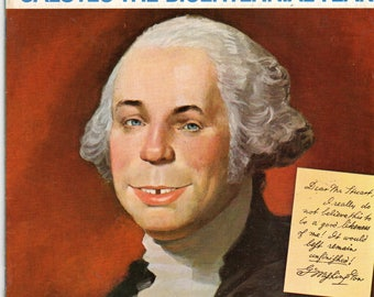 MAD Magazine #181 Alfred as George Washington March 1976 Issue