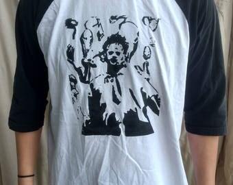 Leatherface Skulls The Baseball T Shirt