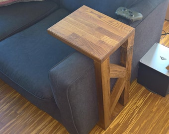 Rustic Couch Table / Coffee Table / Bed Table / Side Table - rustic furniture / butcher block table