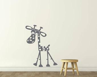 Vinyl wall sticker. decal. sticker • giraffe