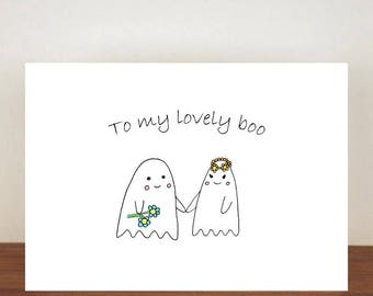 To my lovely boo anniversary card, cards, greeting cards, love, valentines card, cute card, happy valentines day, love card, anniversary