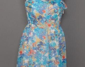 Tahari Brand One Shouder Dress