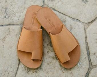 Men sandals,Leather sandals,Handmade sandals for men,Greek sandals,gift for husband,ZEUS