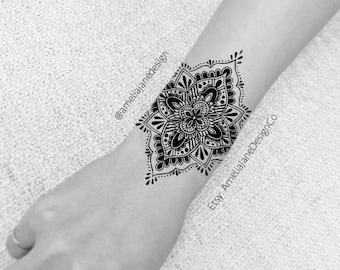 handgelenk tattoo etsy. Black Bedroom Furniture Sets. Home Design Ideas