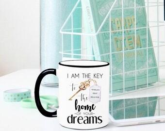 Realtor Mug, Real Estate Agent Mug, Realtor Gift, Real Estate Agent Gift, Gift for Realtor, Closing Gift, Realtor Closing Gifts, Real Estate