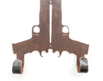 Pistol Double Hook - Metal