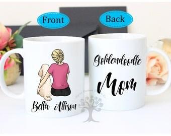 Doodle Mom Mug, Goldendoodle Mug, Labradoodle, Doodle Gift, Poodle Mom Gift, Poodle Mom Mug, Poodle Mug, Goldendoodle Mom Mug, Custom Mug
