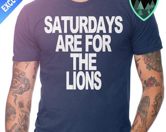 Official Saturdays are for the Lions Penn State Shirt, Penn State Shirt, Penn State Football, Penn State Nittany Lions, Penn State Gift