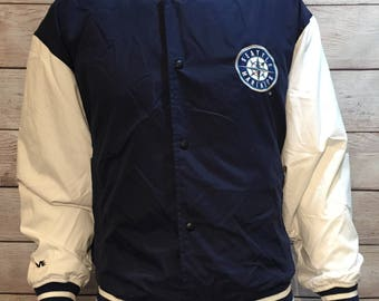 Rare Seattle Mariners MLB Baseball Jacket by Mirage