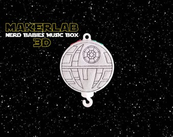 Star Wars™ Music Box For Baby Mobile - Death Star™
