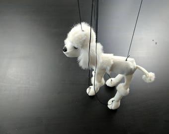 Poodle Puppet