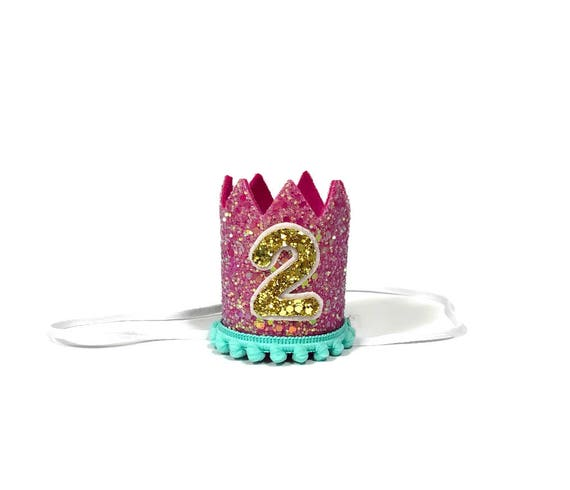 Birthday Crown || Dog Hat || First Birthday Crown || Animal Crown || Animal Party || Birthday Party Photo Prop