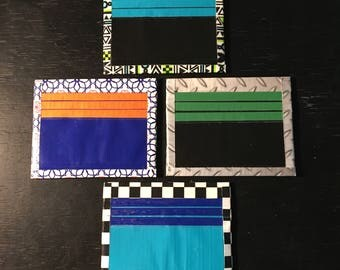 Duck Tape Inside Out Wallet