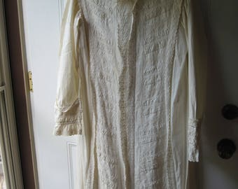A Beautiful Vintage nightgown from the 1800's