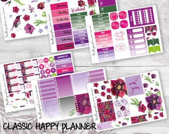 Kit Planner Stickers Classic Happy Planner