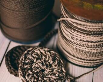 Macrame cord, chunky yarn, macrame rope, diy crafts, crochet rope, crochet supplies, macrame yarn, macrame, rope cord #8 #4/8 218 yard