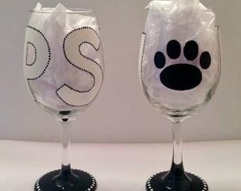 Penn State University (PSU) Wine Glass